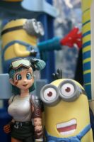 Bulma's New Minions by here-and-faraway