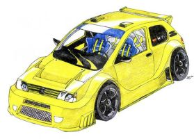 Peugeot 205 tuning by ALX10
