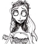 Our lovely Corpse Bride by Sepla