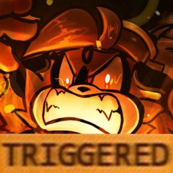 HE'S TRIGGERED!!! by CatHedgehog