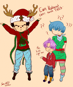 when you're christmas af by dbz-senpai