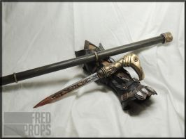 Assassin's Creed Syndicate Cane Sword by FredProps