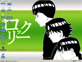 Rock Lee Desktop by CutePokemonTrianer