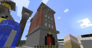 Minecraft - Ghosbusters HQ 2 by Vakamatje