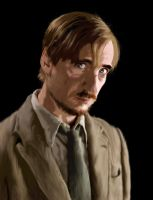 Remus Lupin by dancephd