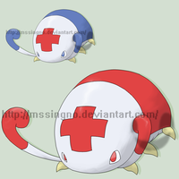 Fakemon Pillif by mssingno