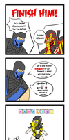 Mortal Kombat Comic by Mahawry
