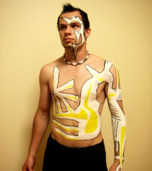 Body Paint .front by NinjaPemgin