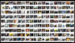 My Last.fm Music Wall by Xe4ro