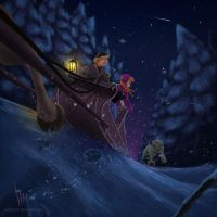Anna And Kristoff (Frozen) by Zheltkevich