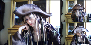leather pirate hat by wulvi