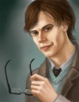 Spencer Reid by Malenloth