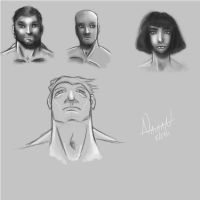 Wacom Sketches by Fellhauer