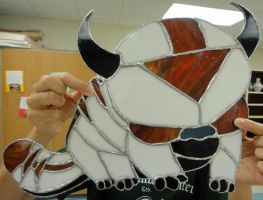 Appa in Stain Glass by J-Jamison