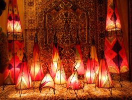 Beautiful lamps for sale Moroccan Pavilion EPCOT by MataHari22