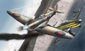 spitfire MKII by QuentinR