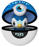 3D Piplup by Princessdawn3D