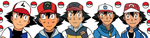 Ash through the years by Fran48