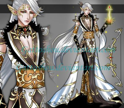 MALE ADOPT 96 [ Auction ] [ CLOSED] by GattoAdopts