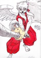 Gargoyles: InuYasha by DogDemonAbridged12
