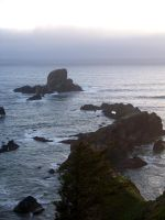 oregon coast stock 002 by lucretia-stock