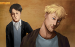 SnK: What are you smiling about? by SarlyneART