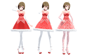 DL: TDA Christmas Meiko by dreamydark