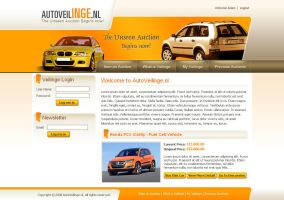 Webinterface for Car Dealers4 by artistsanju