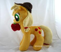 Applejack Plush! by siriasly