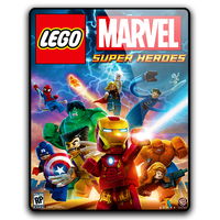LEGO Marvel Super Heroes Icon (PNG, ICO, PSD) by mgbeach