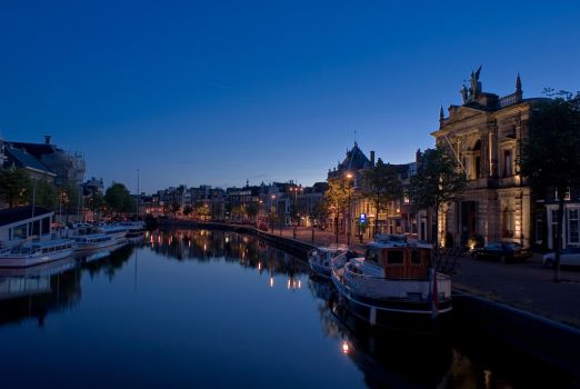 Haarlem at night by Ice-Blue-09