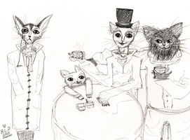 cat teaparty feat. tonguekuner by beyourpet