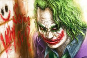 Joker--Why so serious? by alvinwcy