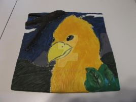 Chocobo Tile from Art Class by FantasyFinale12