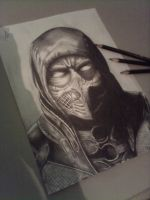 Scorpion-Mortal Kombat X by Leoneto