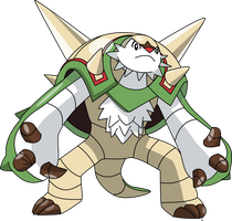 652 Chesnaught by PkLucario