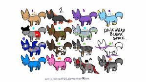 Leftover Canine Adopts by HP-Adopts