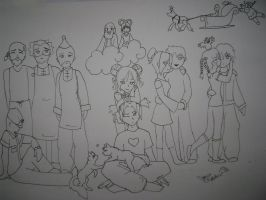 The Pucca Cast by SquirtSapphire