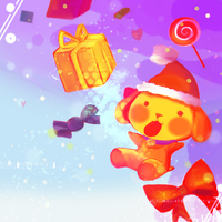 Christmas in Candyland by Yamio