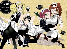 Black Maids by Stormchaser17