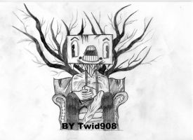Drawing from The used cd cover by Twid908