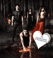 Vampire Diaries Coloring  023 by Rockmenowa