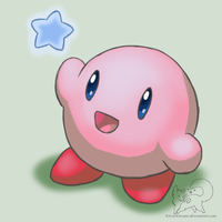 Kirby Star by MileniaKitsuvee