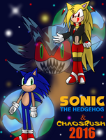 Sonic The Hedgehog + ChaosRush 2016 by DarkXeo