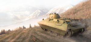 The convertible tank Bt-sv 2 by rOEN911