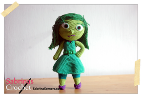 Disgust (Inside Out) by sabrinapina