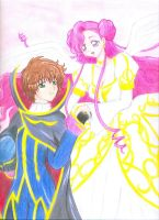 Euphemia and Suzaku by hanako92