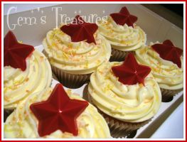 Cupcakes And Stars by gertygetsgangster