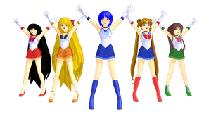 MMD Sailor Senshi Download by GalaxyGuild