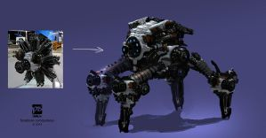20140903 MECH by psdeluxe
